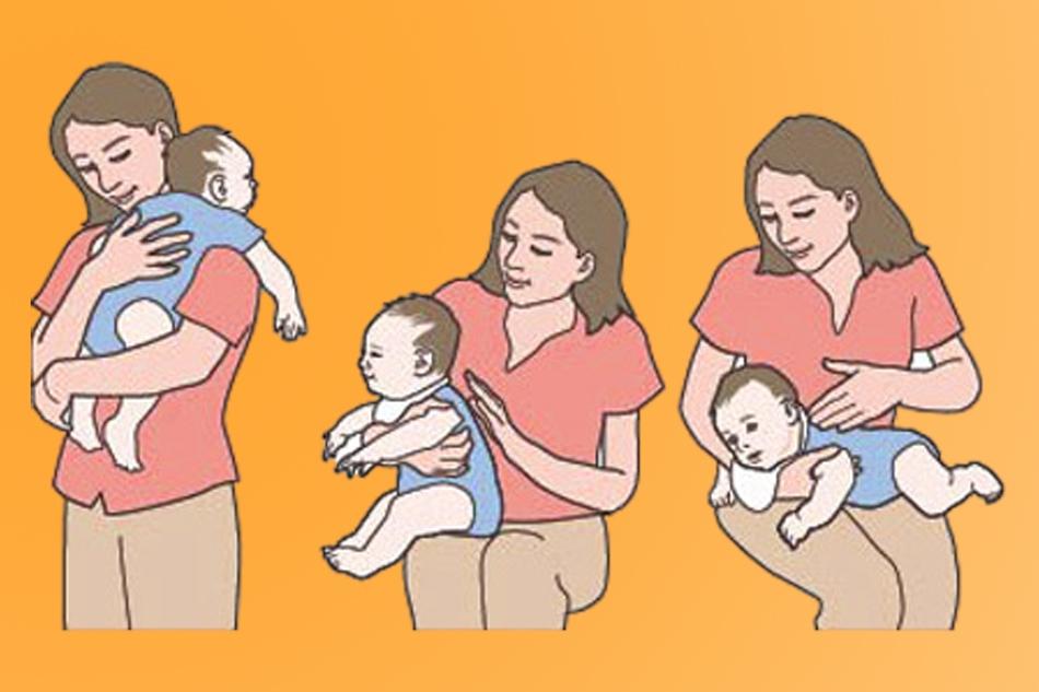 Cách xử trí khi trẻ sơ sinh bị trớ sữa