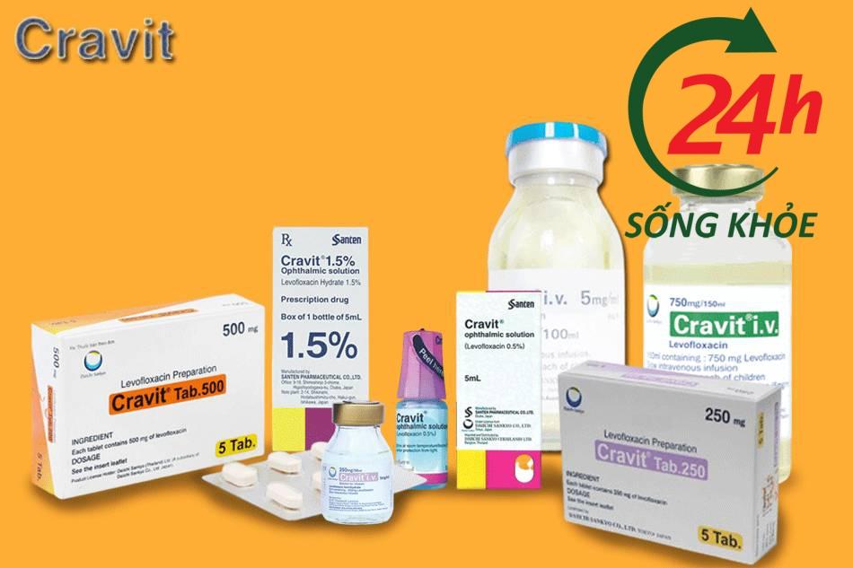Thuốc Cravit là thuốc gì?