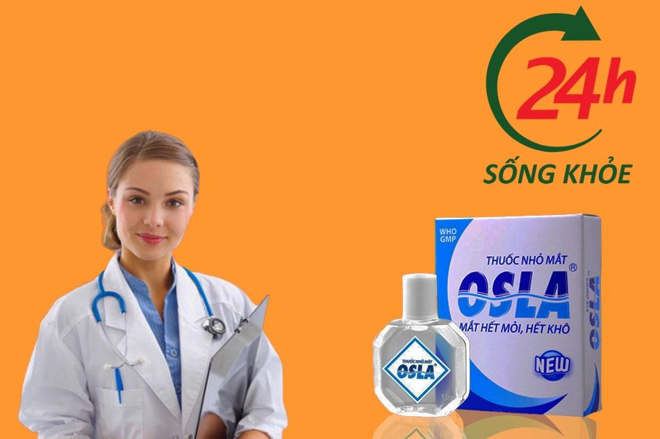 Cách dùng thuốc nhỏ mắt Osla
