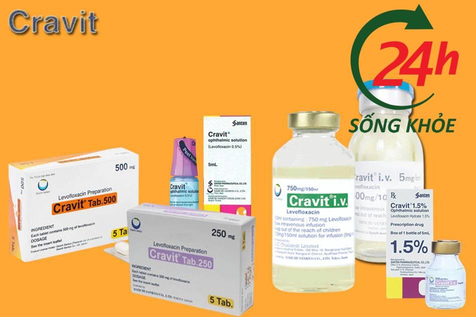 Liều dùng và cách sử dụng thuốc Cravit