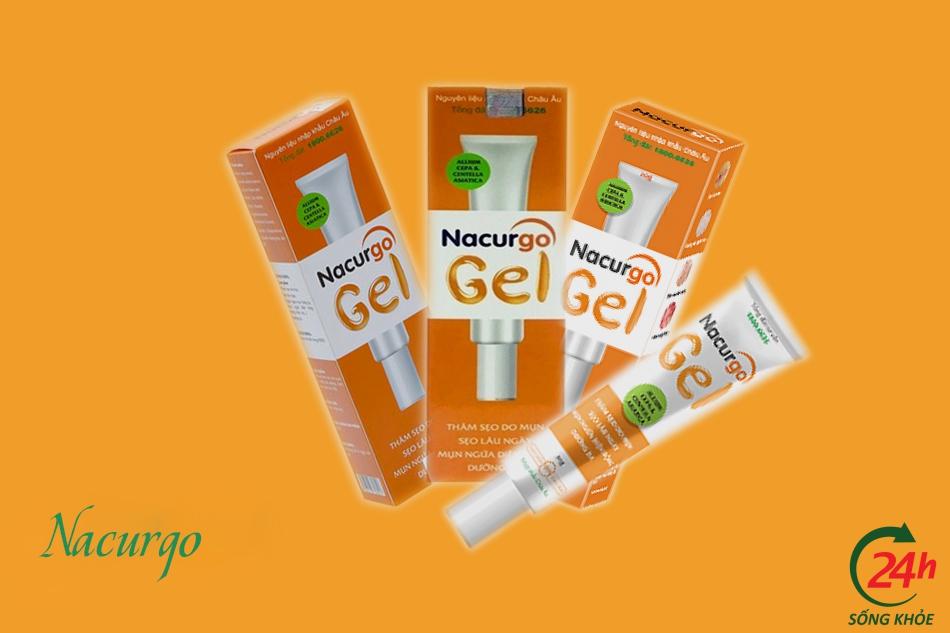 Thành phầncủa sản phẩm Nacurgo