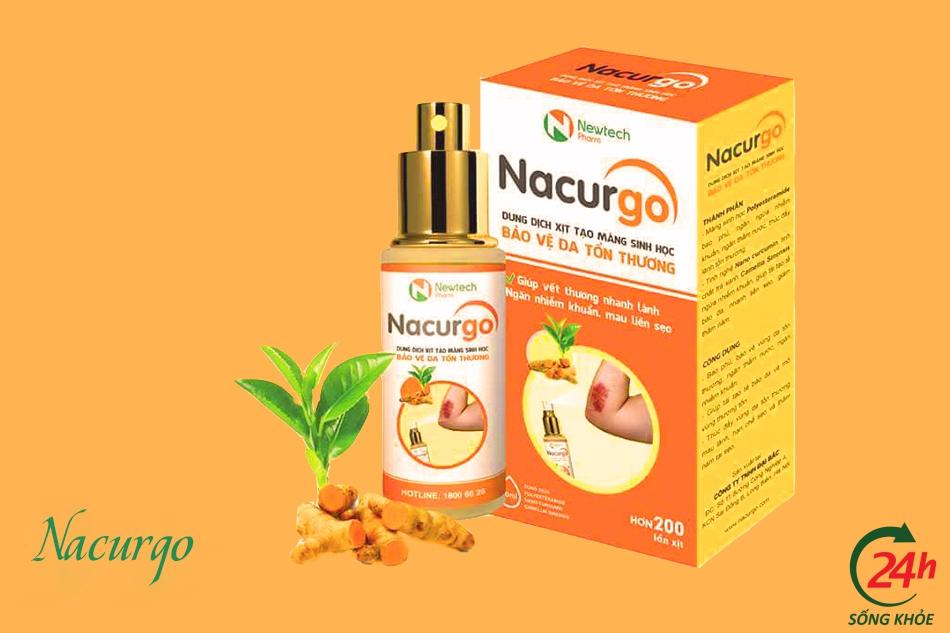Cách sử dụng sản phẩm Nacurgo