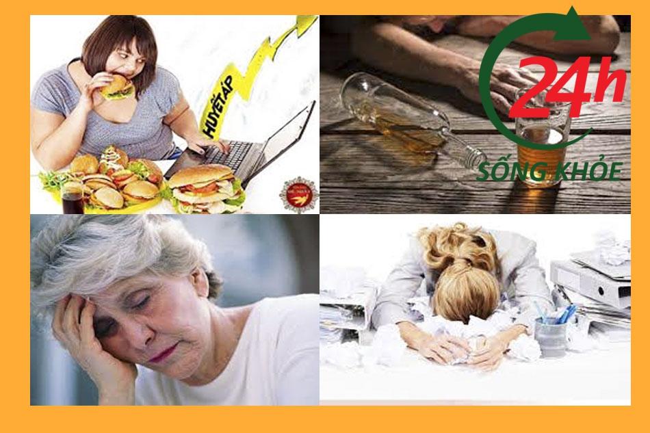 Nguyên nhân nào dẫn đến bệnh cao huyết áp?