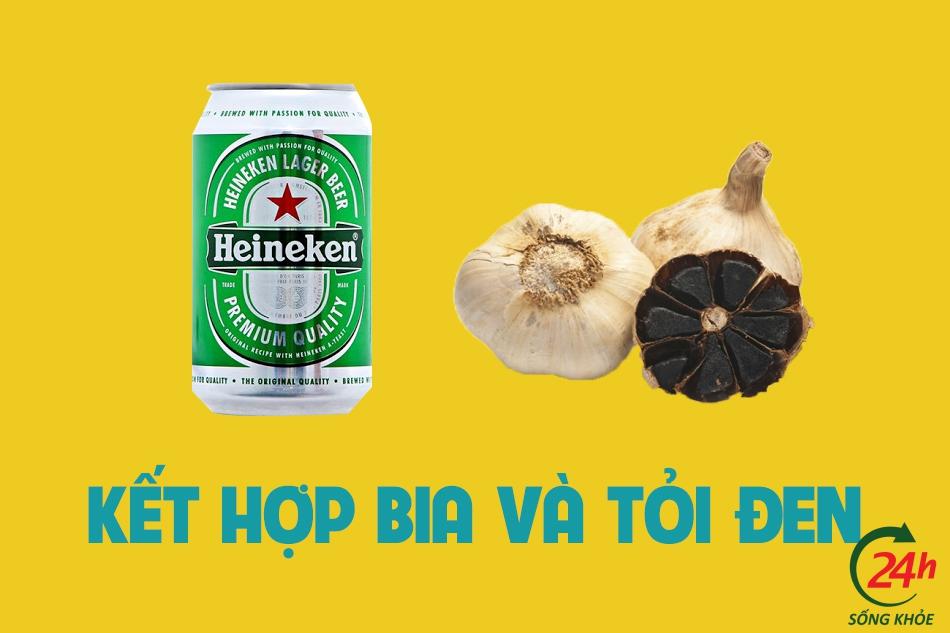 Kết hợp tỏi đen với bia trong điều trị gan nhiễm mỡ