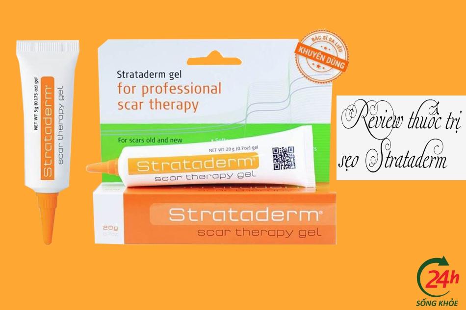 Review kem trị sẹo Strataderm từ người dùng Webtretho