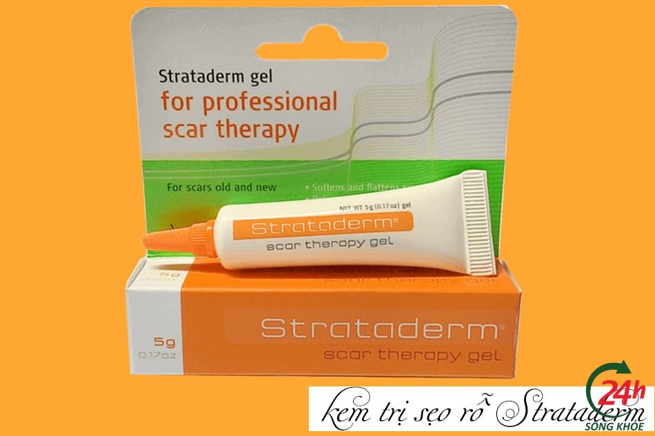Cách sử dụng - liều dùng của kem trị sẹo Strataderm