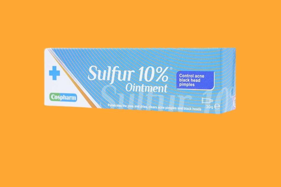 Kem trị mụn Sulfur Ointment 10