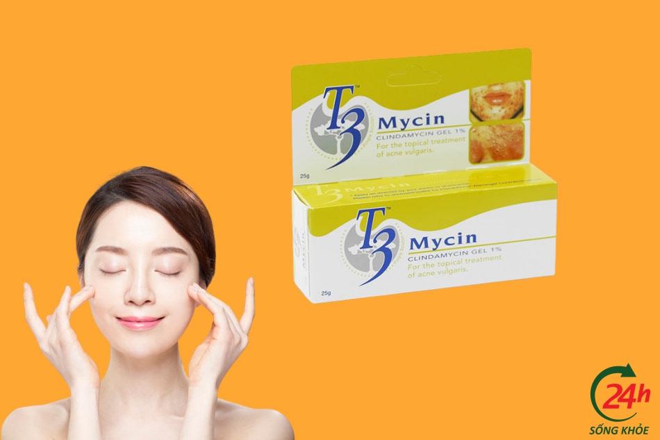 T3 Mycin- thuốc đặc trị mụn trứng cá