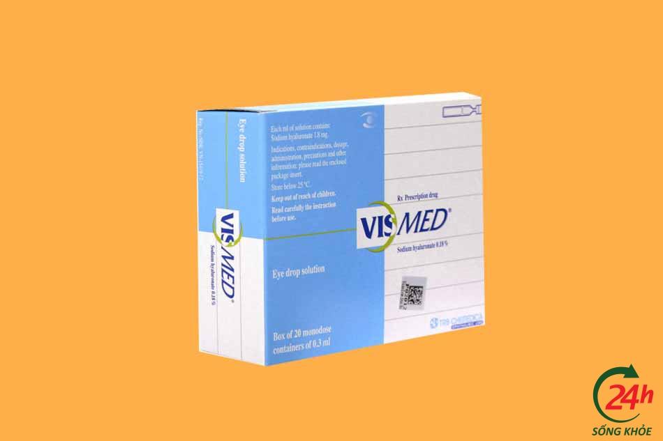 Thuốc nhỏ mắt Vismed giá bao nhiêu?