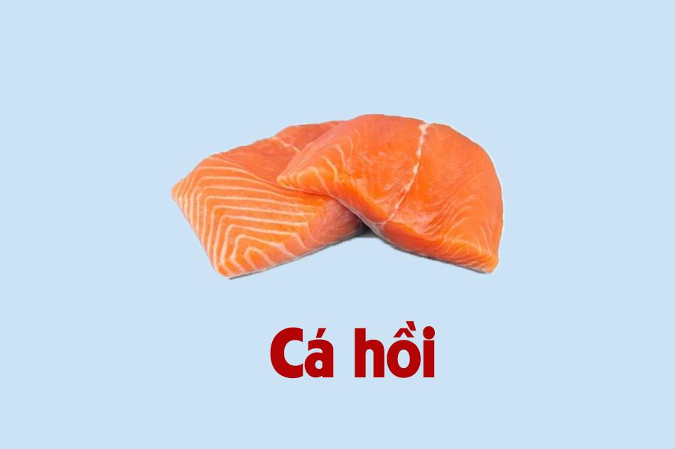 Ăn cá hồi để dễ thụ thai