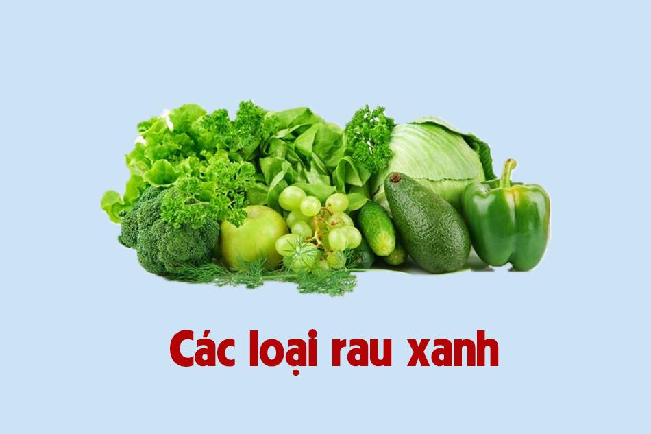 Ăn các loại rau xanh để dễ thụ thai