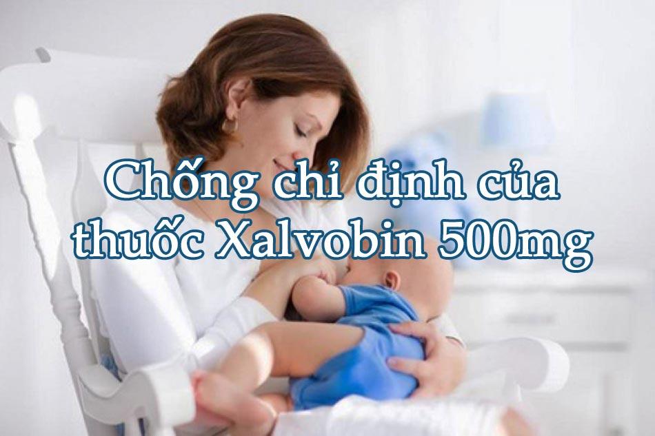 Chống chỉ định của thuốc Xalvobin 500mg