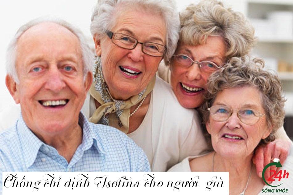 Chống chỉ định của Isotina trị mụn