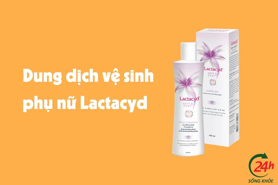 Dụng dịch vệ sinh phụ nữ Lactacyd