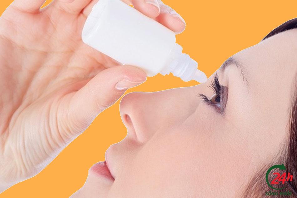 Hướng dẫn sử dụng thuốc nhỏ mắt Argyrol