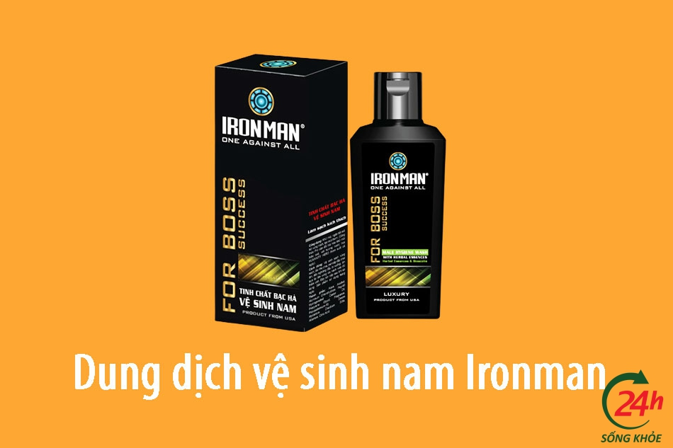 Dung dịch vệ sinh nam Ironman