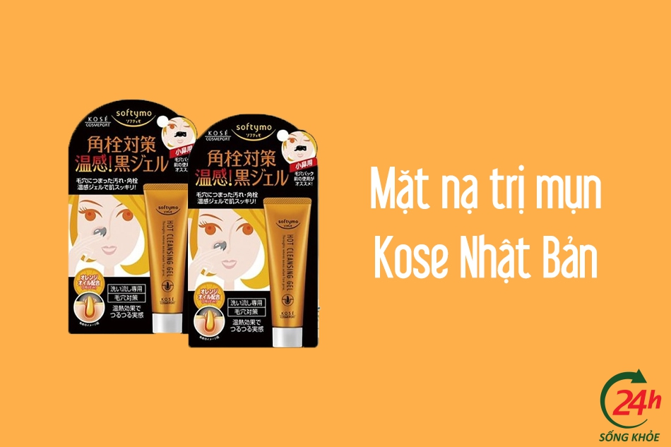 Mặt nạ lột mụn Kose Softymo Hot Clean Pack