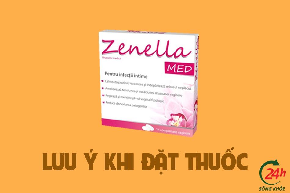 Một số lưu ý khi đặt thuốc Zenella Med