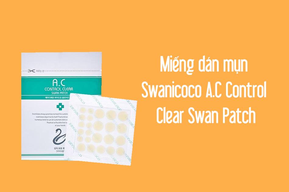Miếng dán mụn Swanicoco A.C Control Clear Swan Patch