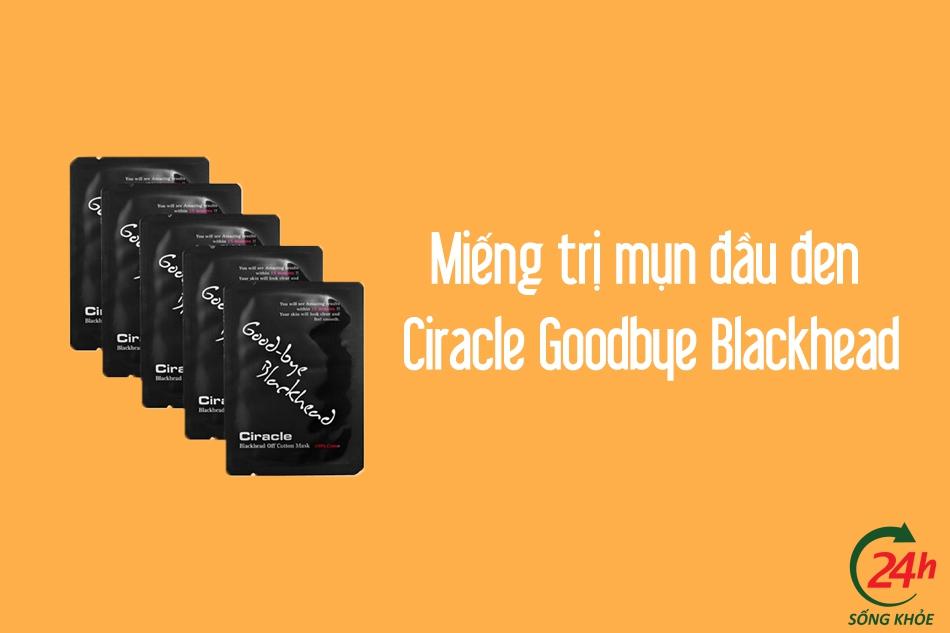 Miếng trị mụn đầu đen Ciracle Goodbye Blackhead