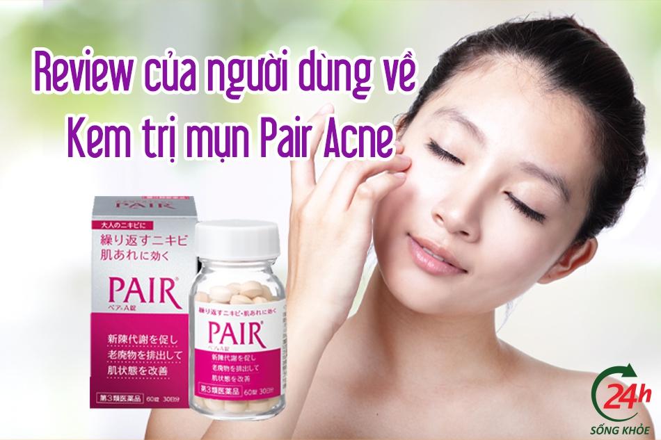 kem trị mụn pair acne lion cream w
