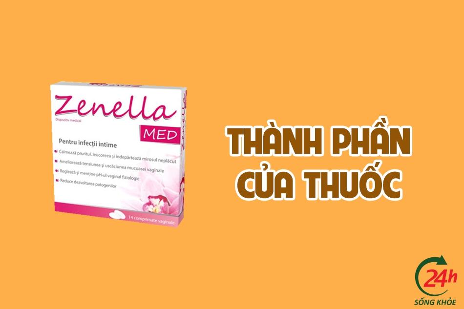 Thành phần của Zenella Med