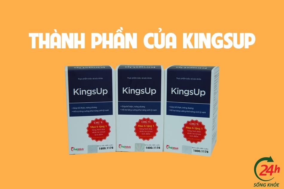 Thành phần của KingsUp