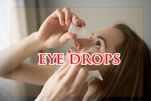 Nhóm thuốc nhỏ mắt