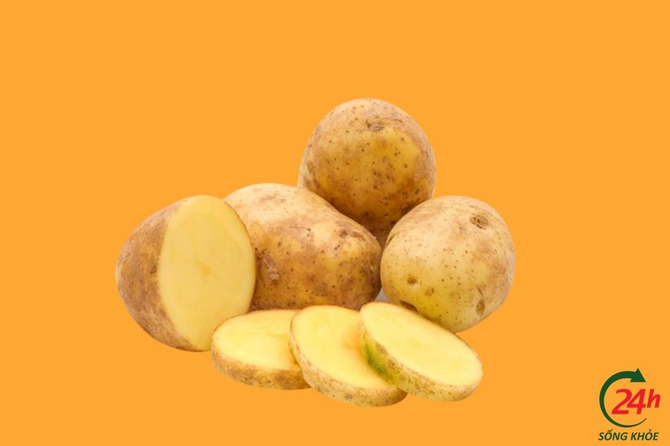 Trị sẹo thâm bằng khoai tây