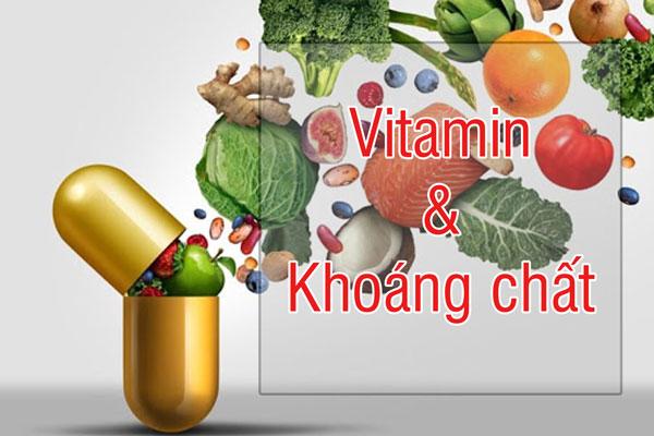 Một số vitamin và khoáng chất thiết yếu