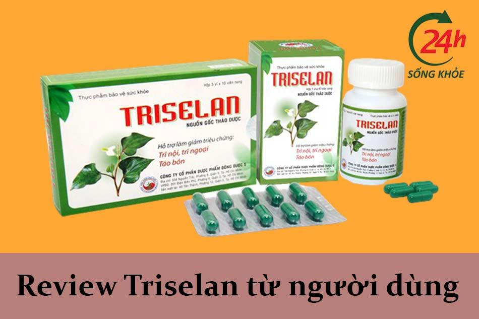 Review Triselan từ người dùng