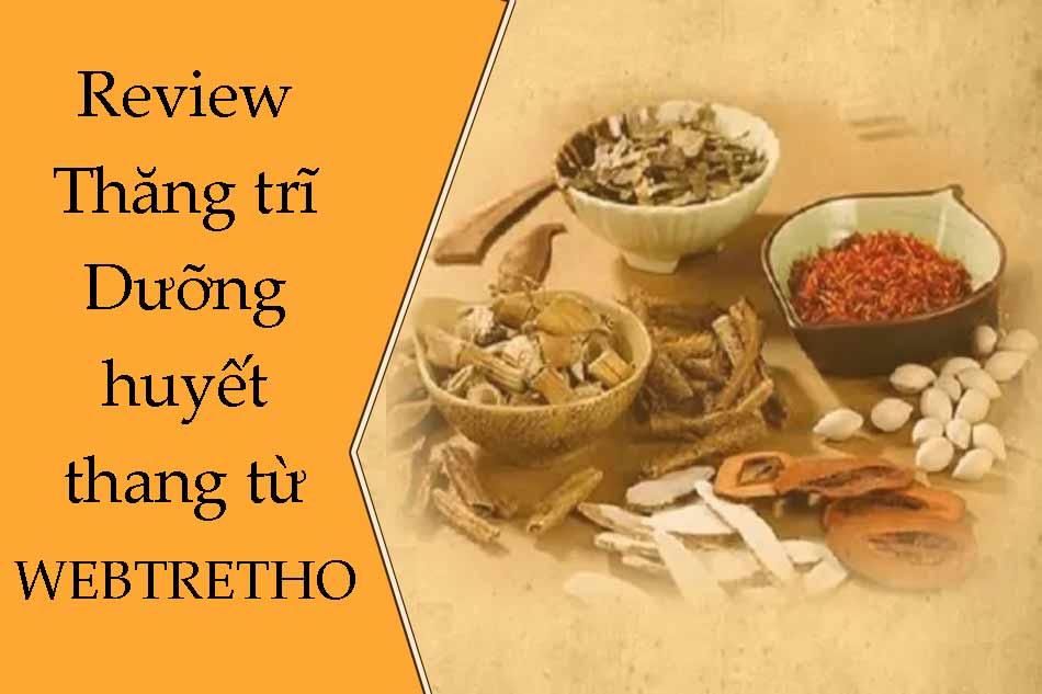 Review Thăng trĩ Dưỡng huyết thang từ Webtretho