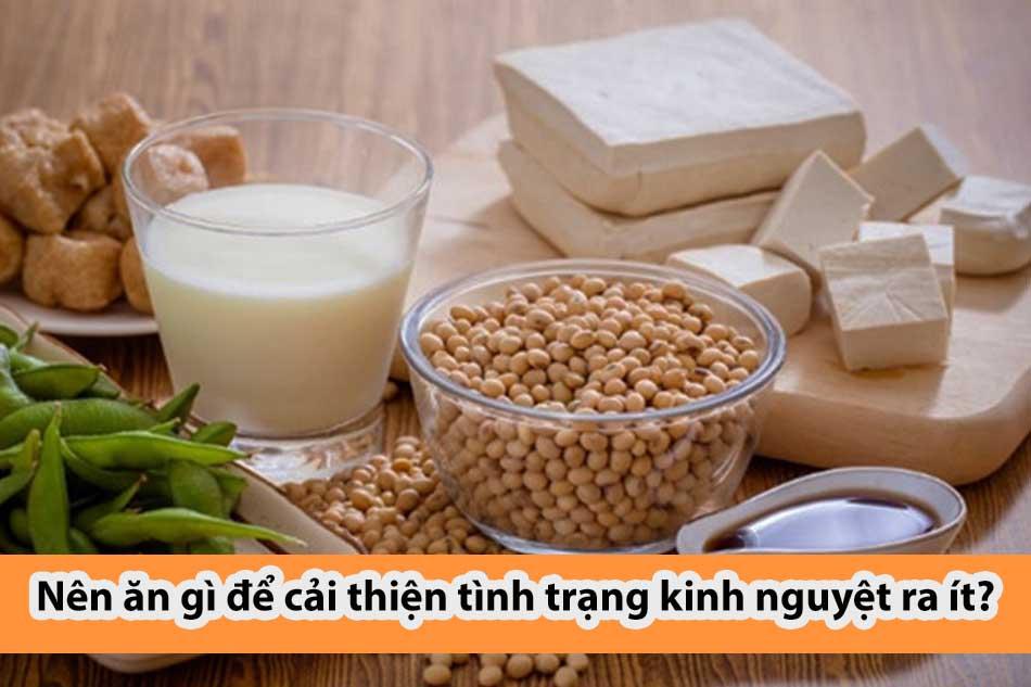 Nên ăn gì để cải thiện tình trạng kinh nguyệt ra ít?