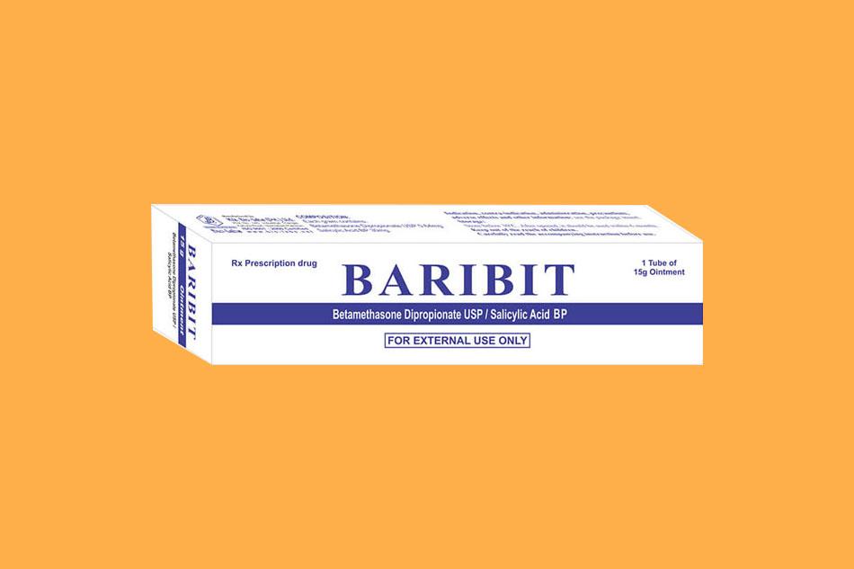 Cách sử dụng thuốc mỡ bôi da Baribit