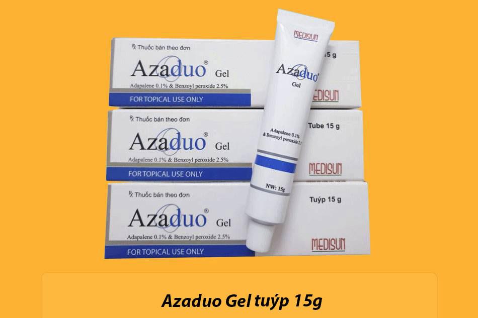 Đối tượng sử dụng thuốc trị mụn Azaduo Gel