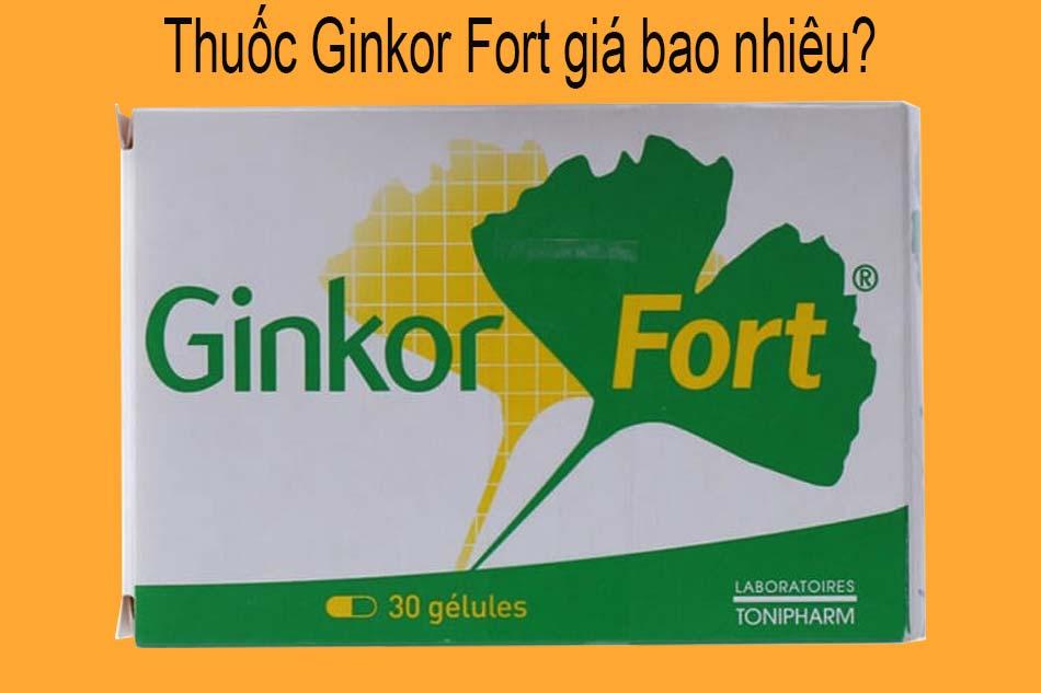 Thuốc Ginkor Fort giá bao nhiêu?