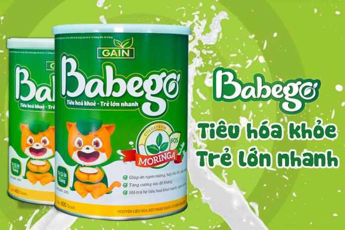 Sự thật sữa thảo dược Babego trị biếng ăn có tốt không? Điểm bán uy tín