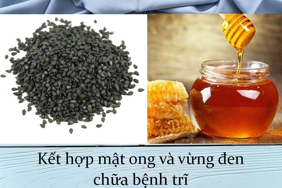 Kết hợp mật ong và vừng đen chữa bệnh trĩ