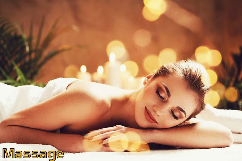 Tác dụng massage xoa bóp của tinh dầu