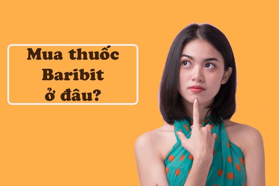 Mua thuốc Baribit ở đâu?