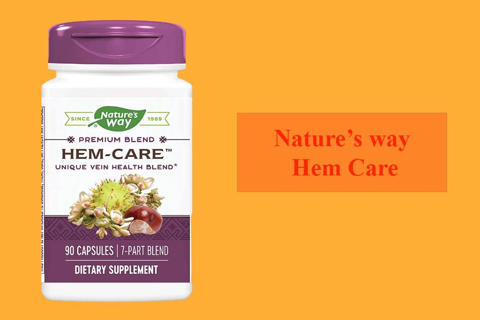 Thuốc Nature's way Hem Care