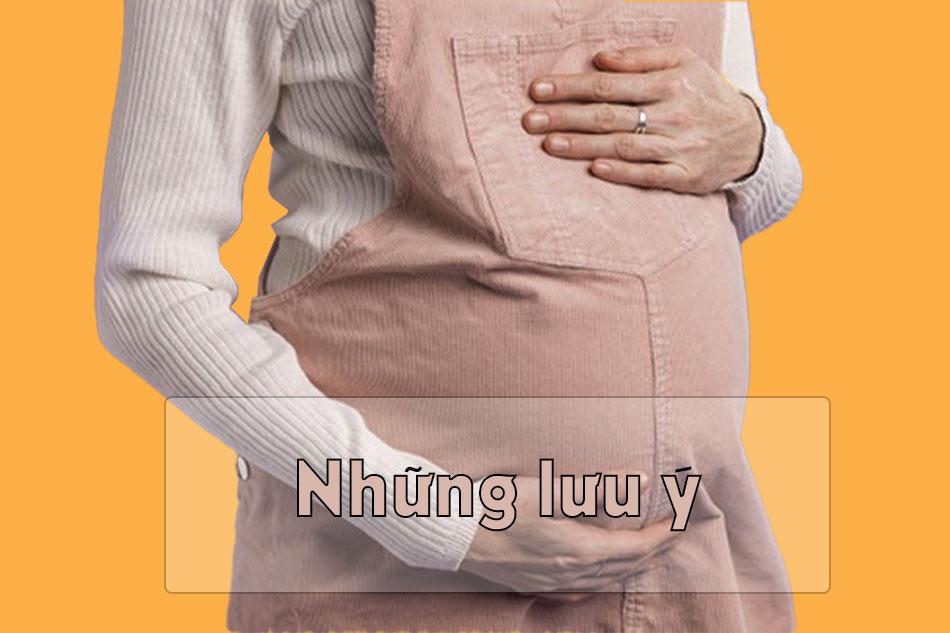 Những lưu ý khi quan hệ trong thai kì