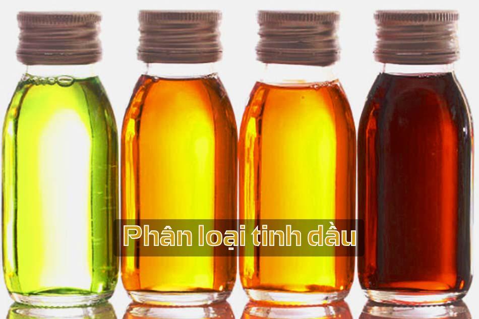 Phân loại tinh dầu