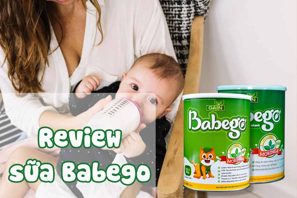 Review về sữa Babego từ các bà mẹ