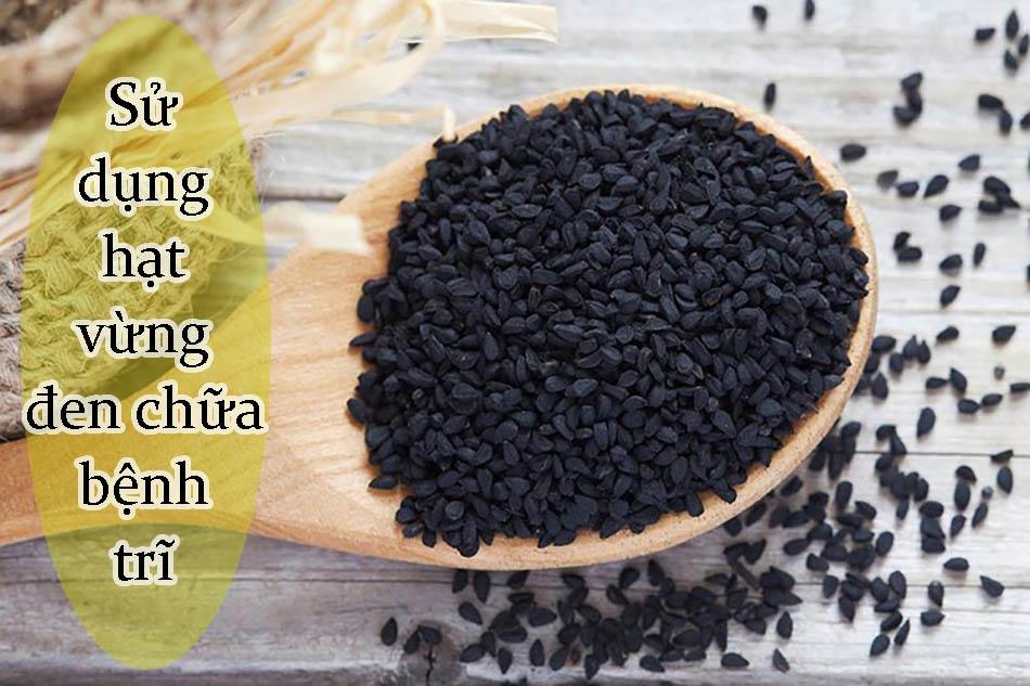 Sử dụng hạt vừng đen chữa bệnh trĩ