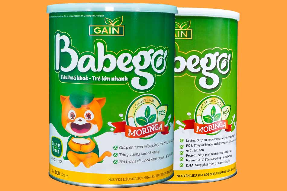 Điểm vượt trội trong công nghệ sản xuất sữa Babego