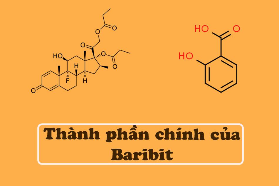 Thành phần của Baribit