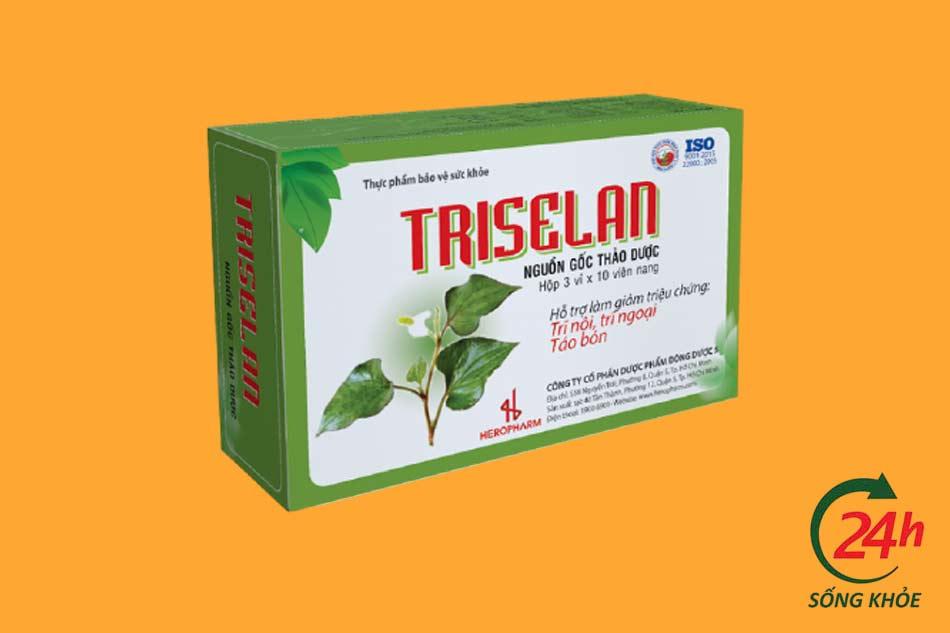 Thành phần của viên uống Triselan