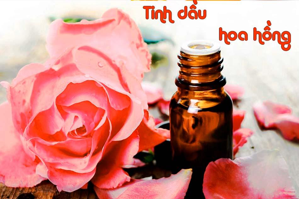 Tinh dầu hoa hồng