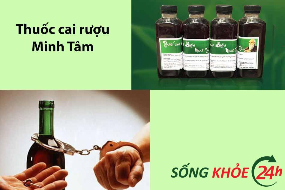 Thuốc cai rượu Minh Tâm